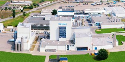 photo of Novalac production site